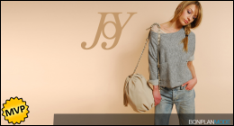 Vente privee JOY sur Atelier de la mode
