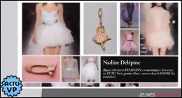 NADINE DELEPINE sur Atelier de la Mode