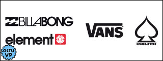 VANS, BILLABONG, PRO-TEC sur ShopOfTheSpot