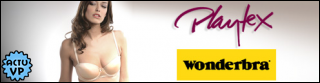 WONDERBRA, PLAYTEX chez ShowRoomPrivé
